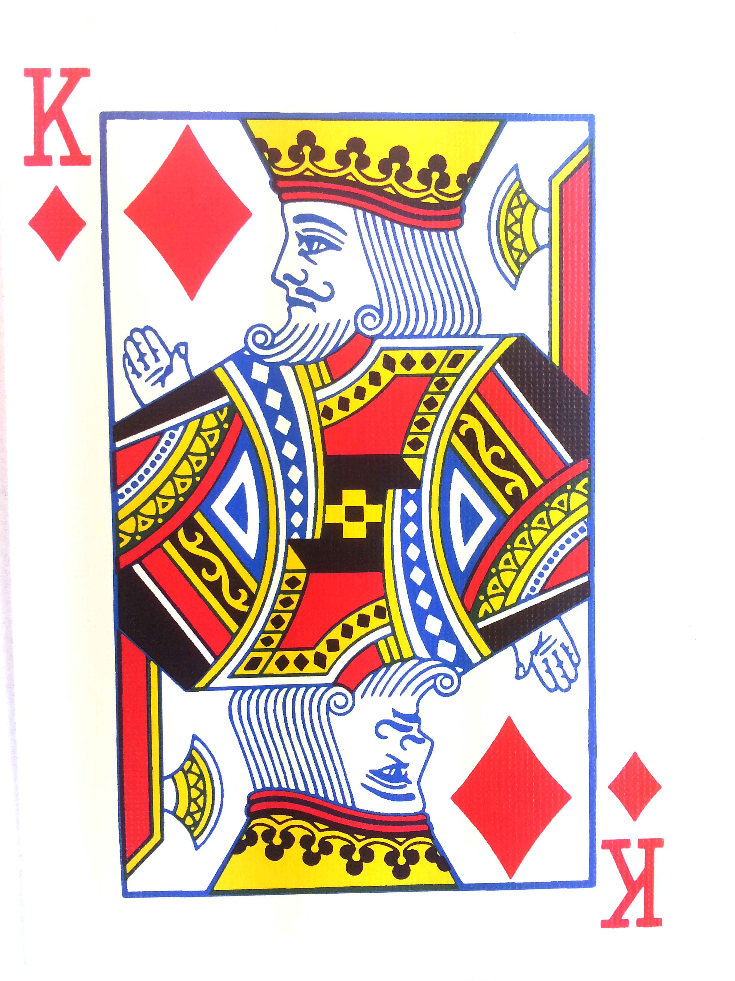 Playing Cards Outline Playing Cards Template