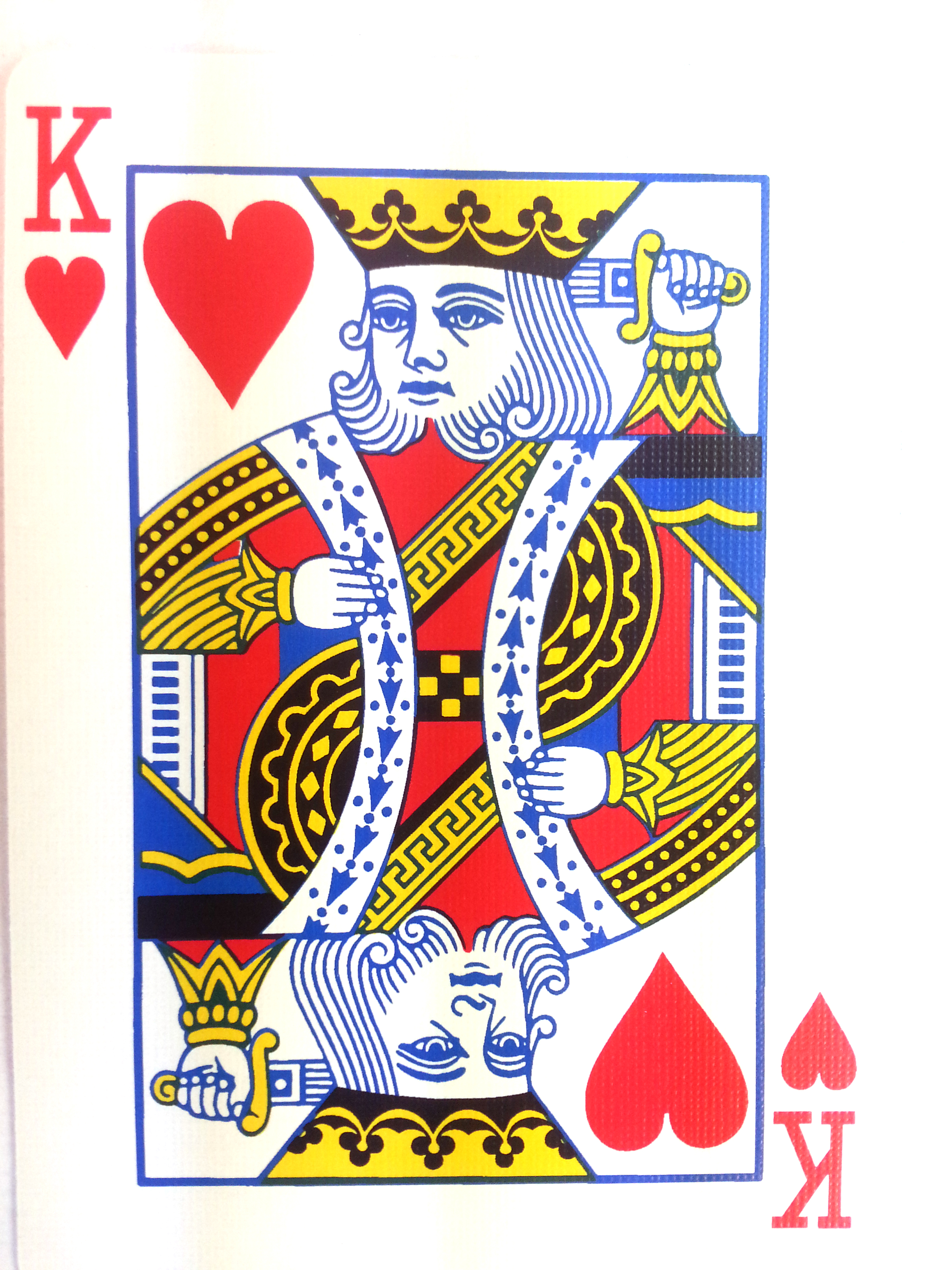King Of Hearts Card Ta...