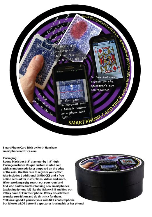 Smart Phone Card Trick Packaging